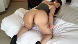 My Curvy Brazilian Wife shaking her ass like Sara Jay